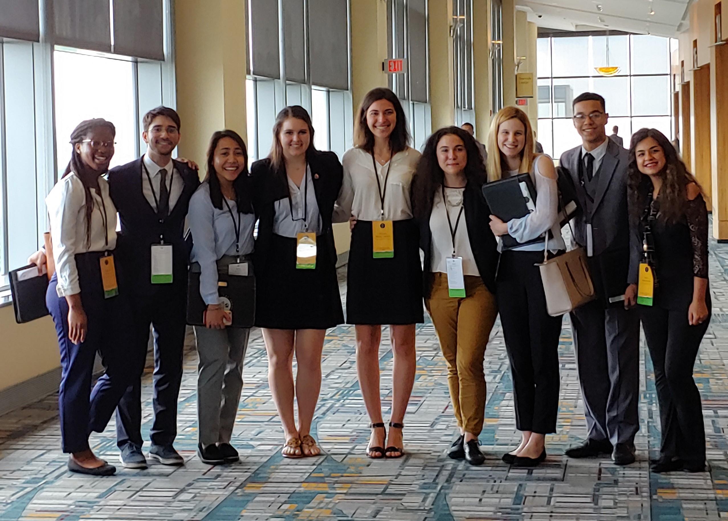 Gateways Students at LANS 2019